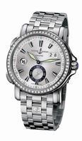 Ulysse Nardin Dual Time Mens Wristwatch 243-55B-7/91