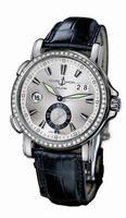 Ulysse Nardin Dual Time Mens Wristwatch 243-55B/91