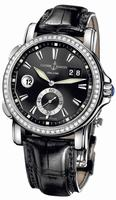 Ulysse Nardin Dual Time Mens Wristwatch 243-55B/92