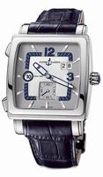 Ulysse Nardin Quadrato Dual Time Mens Wristwatch 243-92-601