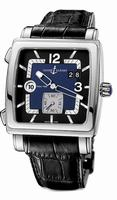 Ulysse Nardin Quadrato Dual Time Mens Wristwatch 243-92-632