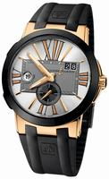 Ulysse Nardin Executive Dual Time 43mm Mens Wristwatch 246-00-3/421