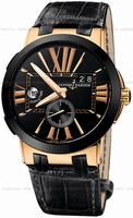 Ulysse Nardin Executive Dual Time Mens Wristwatch 246-00-42
