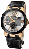 Ulysse Nardin Executive Dual Time 43mm Mens Wristwatch 246-00/421