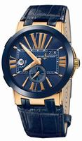 Ulysse Nardin Executive Dual Time Mens Wristwatch 246-00-5-43