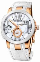Ulysse Nardin Executive Dual Time Ladies Ladies Wristwatch 246-10-391