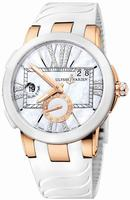 Ulysse Nardin Executive Dual Time Ladies Ladies Wristwatch 246-103-391