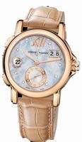 Ulysse Nardin Dual Time Lady Ladies Wristwatch 246-22/392