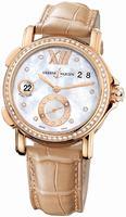 Ulysse Nardin GMT Big Date 37mm Ladies Wristwatch 246-22B/391