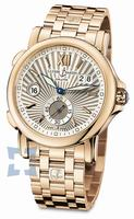 Ulysse Nardin Dual Time 42 mm Mens Wristwatch 246-55-8-30