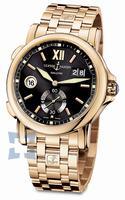 Ulysse Nardin Dual Time 42 mm Mens Wristwatch 246-55-8-32