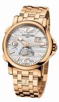 Ulysse Nardin Dual Time Mens Wristwatch 246-55-8/60