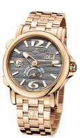 Ulysse Nardin Dual Time Mens Wristwatch 246-55-8/69