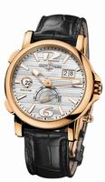 Ulysse Nardin Dual Time Mens Wristwatch 246-55/60
