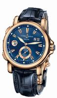 Ulysse Nardin Dual Time Mens Wristwatch 246-55/93