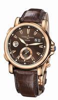 Ulysse Nardin Dual Time Mens Wristwatch 246-55/95