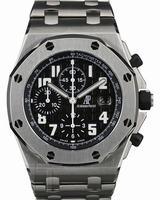 Audemars Piguet Royal Oak Offshore Chrono Mens Wristwatch 25721TI.OO.1000TI.06.A