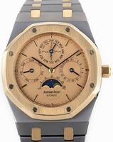 Audemars Piguet Royal Oak Quantieme Perpetual Automatique Mens Wristwatch 25820TR.OO.0944TR.01