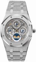 Audemars Piguet Royal Oak Perpetual Calendar Skeleton Mens Wristwatch 25829ST.OO.0944ST.01