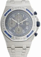 Audemars Piguet Royal Oak Offshore Chrono Gem-Set 1998 Mens Wristwatch 25862SC.ZS.1000ST.02.A