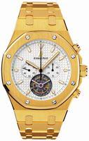 Audemars Piguet Royal Oak Tourbillon Chronograph Mens Wristwatch 25977BA.OO.1205BA.02