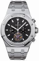 Audemars Piguet Royal Oak Tourbillon Chronograph Mens Wristwatch 25977ST.OO.1205ST.02