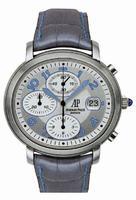 Audemars Piguet Ladies Millenary Chronograph Wristwatch 26011ST.OO.D007CR.01