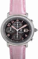 Audemars Piguet Ladies Millenary Chronograph Wristwatch 26011ST.OO.D078CR.01