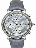 Audemars Piguet Ladies Millenary Chronograph Wristwatch 26018ST.ZZ.D007CR.01