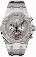 Audemars Piguet Royal Oak Tourbillon Chronograph Mens Wristwatch 26039BC.ZZ.1205BC.01