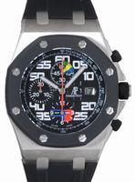 Audemars Piguet Royal Oak Offshore Rubens Barrichello Chronograph Mens Wristwatch 26071IK.OO.D002CA.01