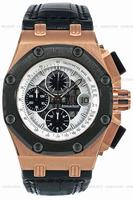 Audemars Piguet Royal Oak Offshore Rubens Barrichello Chronograph Mens Wristwatch 26078RO.OO.D001VS.01