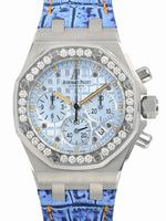 Audemars Piguet Royal Oak Offshore Lady Jeans Limited Ladies Wristwatch 26113ST.ZZ.D030CR.01