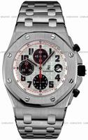Audemars Piguet Royal Oak Offshore Mens Wristwatch 26170ST.OO.1000ST.01