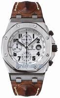 Audemars Piguet Royal Oak Offshore Chronograph Special Editions Mens Wristwatch SAFARI 26170ST.OO.D091CR.01