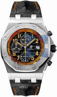 Audemars Piguet Royal Oak Offshore Chronograph Special Editions Mens Wristwatch VOLCANO 26170ST.OO.D101CR.01