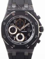 Audemars Piguet Royal Oak Offshore Ginza 7 Forged Carbon Mens Wristwatch 26205AU.OO.D002CR.01