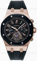 Audemars Piguet Royal Oak Chrono Tourbillon Restivo Mens Wristwatch 26257OK.OO.D002CA.01
