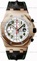 Audemars Piguet Royal Oak Offshore Pride of Mexico Mens Wristwatch 26297OR.OO.D101CR.01