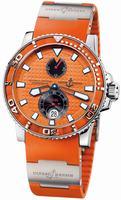 Ulysse Nardin Maxi Marine Diver Chronometer Mens Wristwatch 263-33-3/97