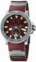 Ulysse Nardin Maxi Marine Diver Mens Wristwatch 263-33-3.95