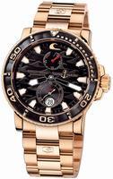 Ulysse Nardin Maxi Marine Diver Black Surf Mens Wristwatch 266-37LE-8M