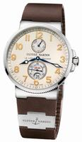 Ulysse Nardin Marine Chronometer 41mm Mens Wristwatch 263-66-3/60