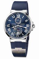 Ulysse Nardin Maxi Marine Chronometer 43mm Mens Wristwatch 263-67-3-43