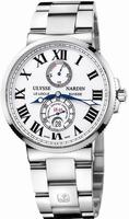 Ulysse Nardin Maxi Marine Chronometer 43mm Mens Wristwatch 263-67-7-40