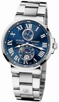 Ulysse Nardin Maxi Marine Chronometer 43mm Mens Wristwatch 263-67-7/43