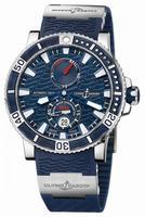 Ulysse Nardin Maxi Marine Diver Titanium Mens Wristwatch 263-90-3-93