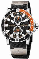 Ulysse Nardin Maxi Marine Diver Titanium Mens Wristwatch 263-90-3.92
