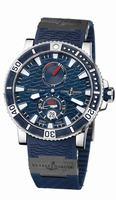Ulysse Nardin Marine Diver Titanium Mens Wristwatch 263-90-3C/93