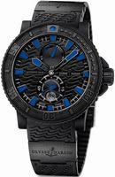 Ulysse Nardin Maxi Marine Diver Black Sea Mens Wristwatch 263-92-3C-923